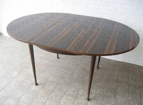vintage extendable round dining table 1960s for sale at pamono