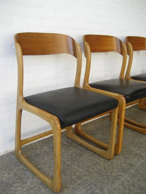 Vintage Dining Chairs From Baumann Set Of 4 For Sale At Pamono