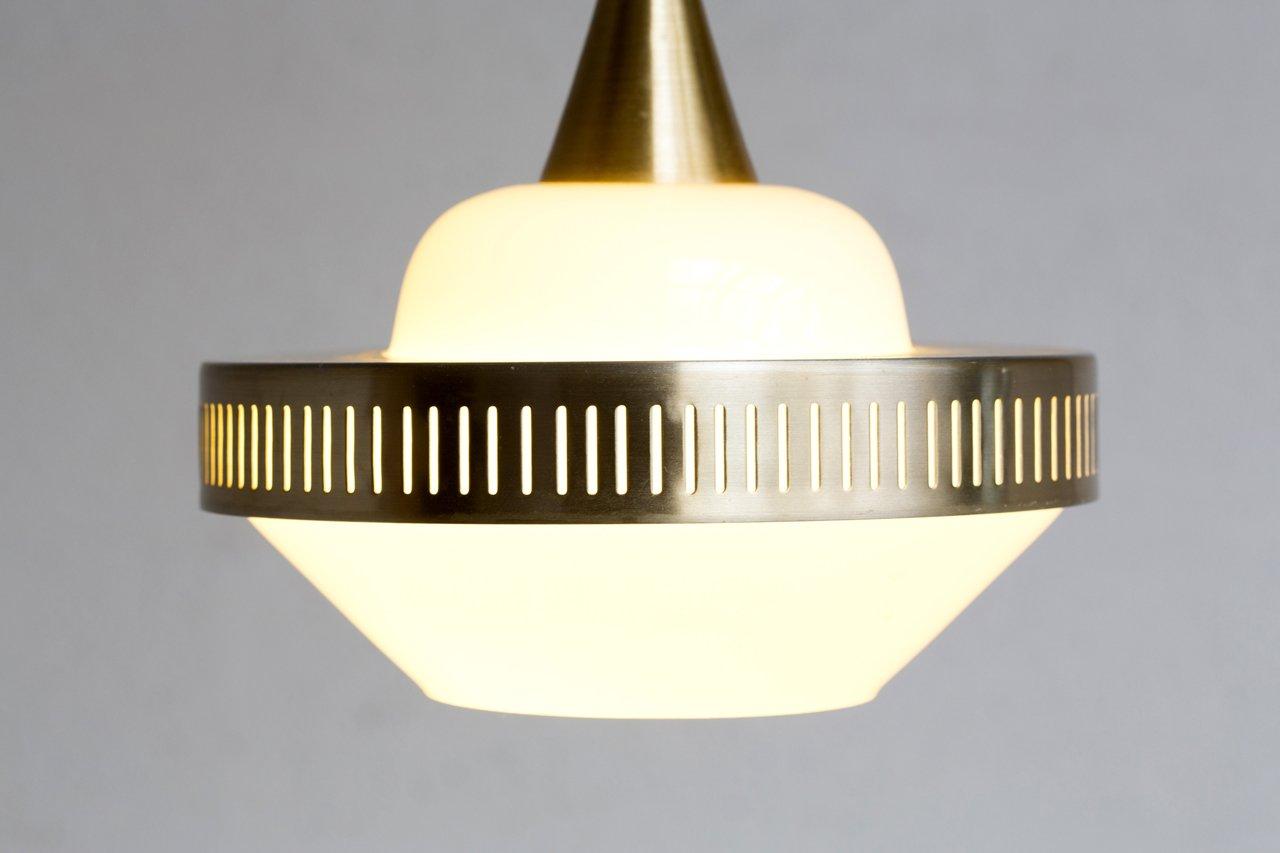 Vintage Swedish Circular Pendant Lamp For Sale At Pamono