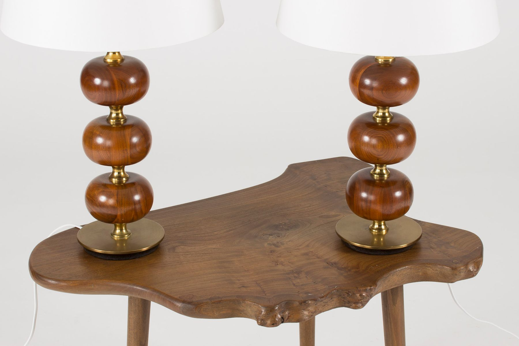 Mahogany table lamps by henrik blomqvist for trans stilarmatur mahogany table lamps by henrik blomqvist for trans stilarmatur 1960s set of 2 geotapseo Choice Image