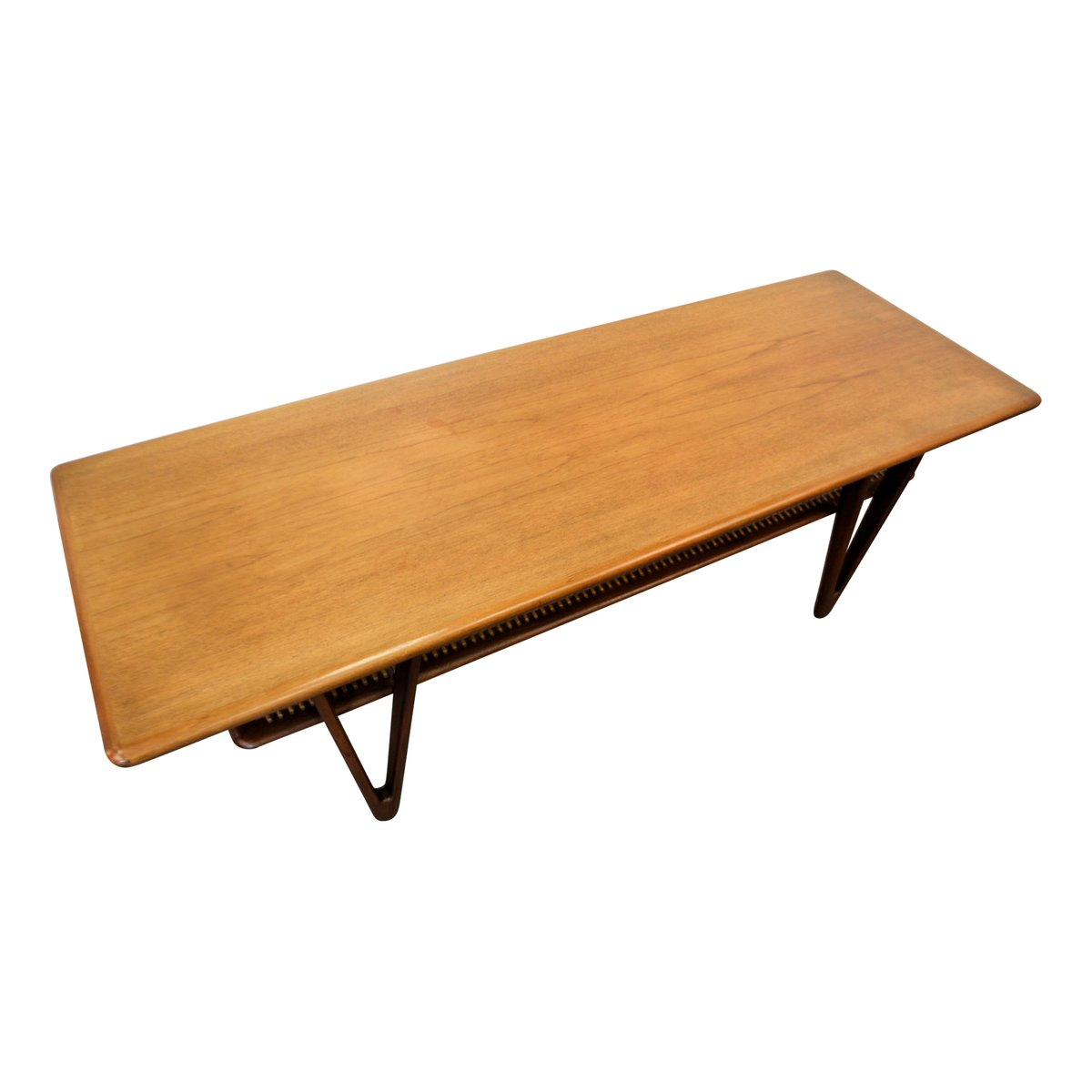 Mid Century Modern Danish Teak Coffee Table 1950s For Sale At Pamono
