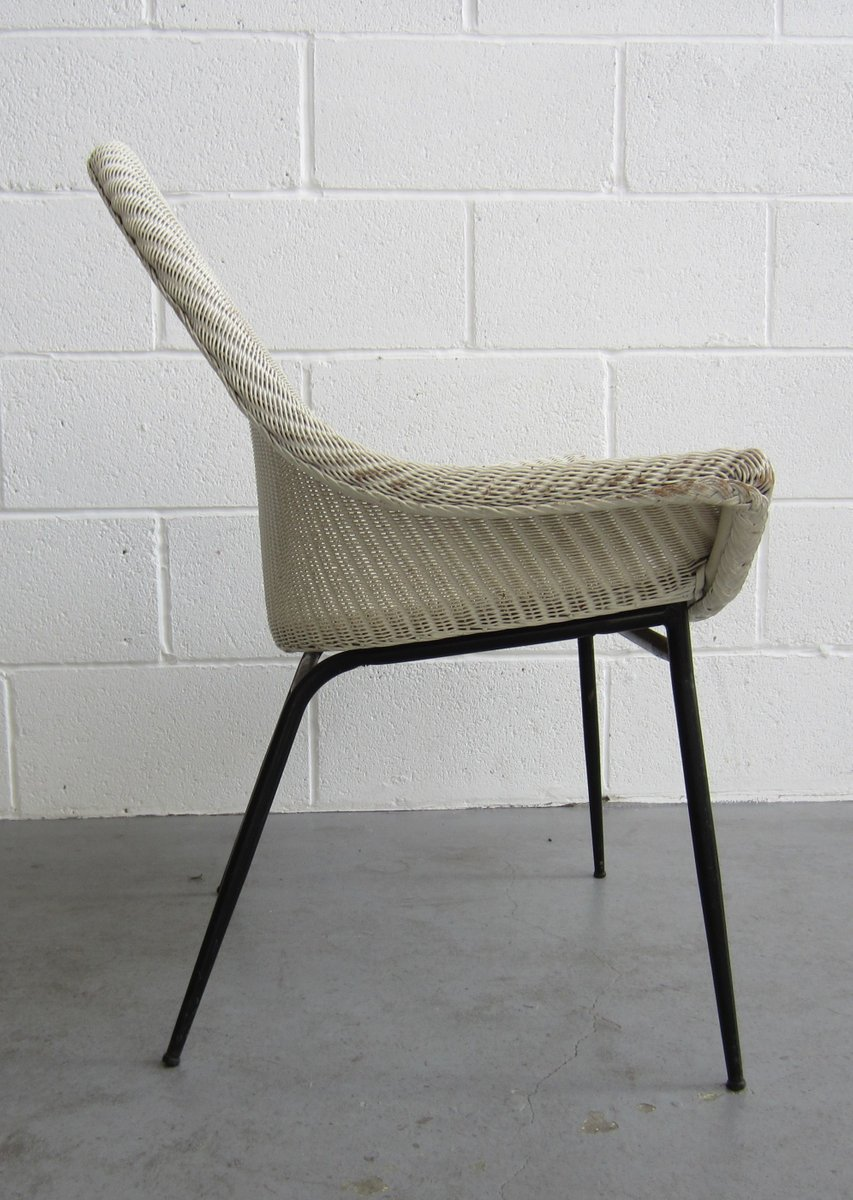 Armchair by Lloyd Loom Lusty, 1950s for sale at Pamono