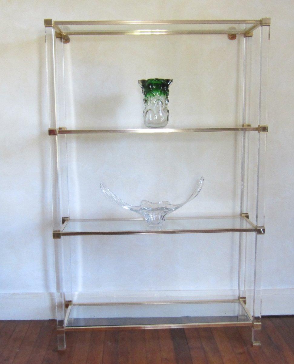 four shelf tagere by pierre vandel of paris for sale at pamono. Black Bedroom Furniture Sets. Home Design Ideas