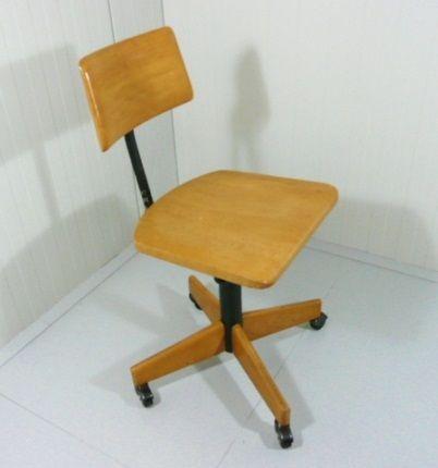 Schreibtischstuhl von stoll giroflex bei pamono kaufen for Schreibtischstuhl skandinavisch
