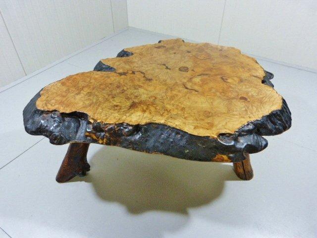 Holzstamm Couchtisch aus Kanada, 1960er bei Pamono kaufen