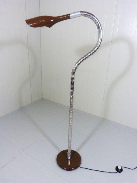 Italienische Stehlampe Kobra 1960er Bei Pamono Kaufen
