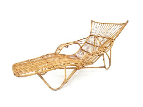 vintage rattan lounge chair 1960s for sale at pamono. Black Bedroom Furniture Sets. Home Design Ideas