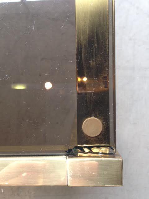 Vintage messing glas couchtisch 1970er bei pamono kaufen - Couchtisch messing glas ...