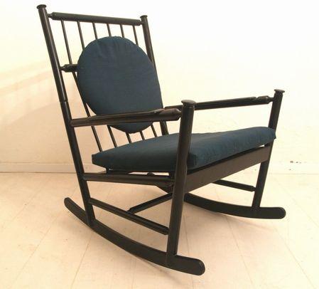 vintage schaukelstuhl 1950er bei pamono kaufen. Black Bedroom Furniture Sets. Home Design Ideas