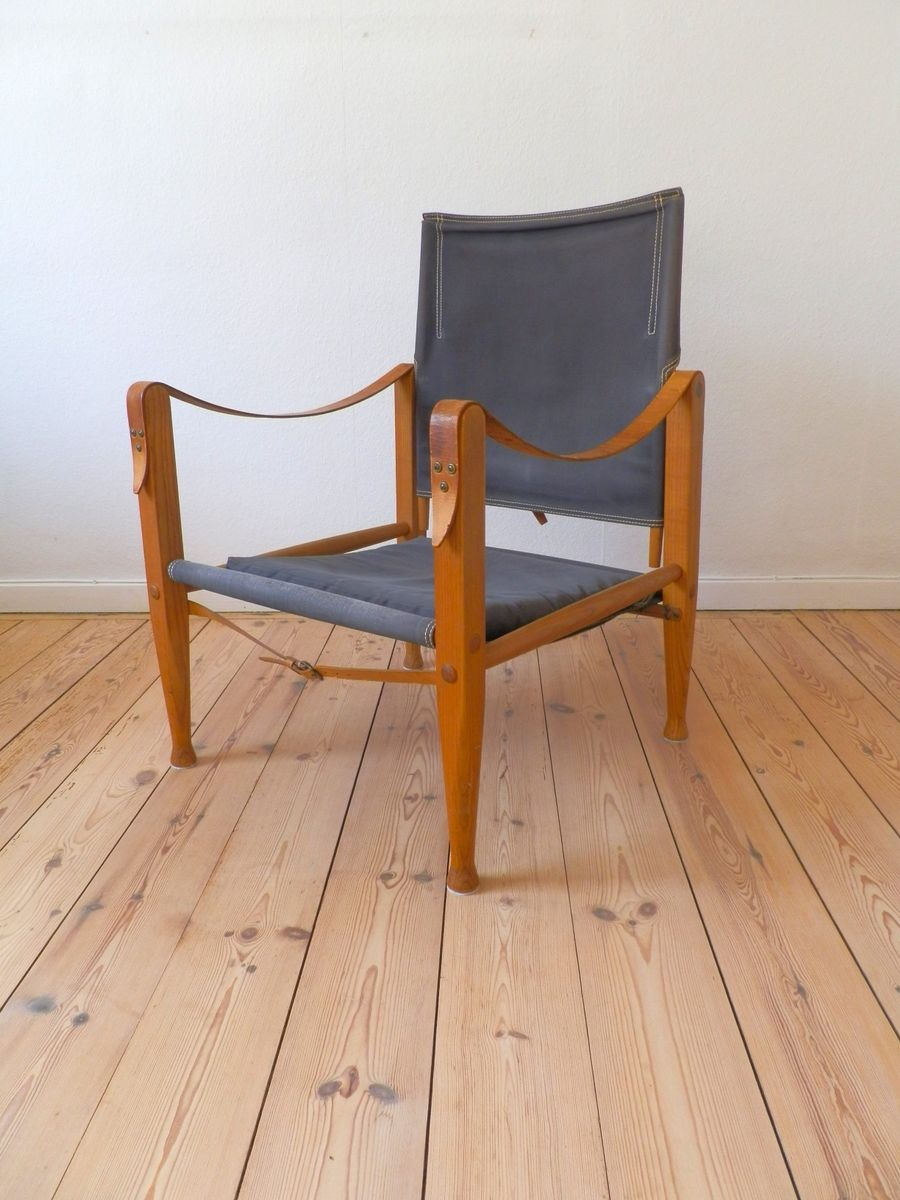 Skandinavischer safari stuhl von kaare klint f r rud - Skandinavischer stuhl ...