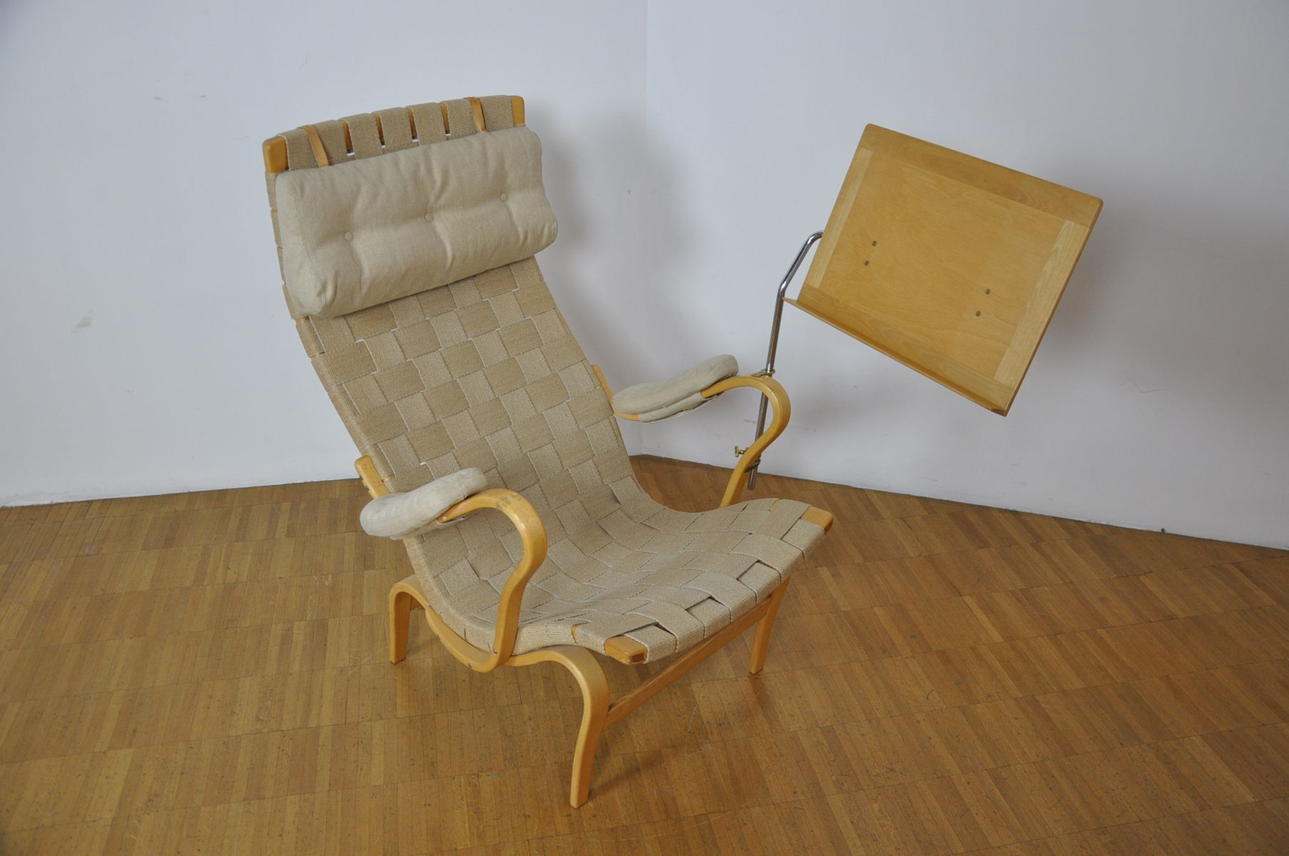 Lounge Chair by Bruno Mathsson for Mathsson AB for sale at Pamono