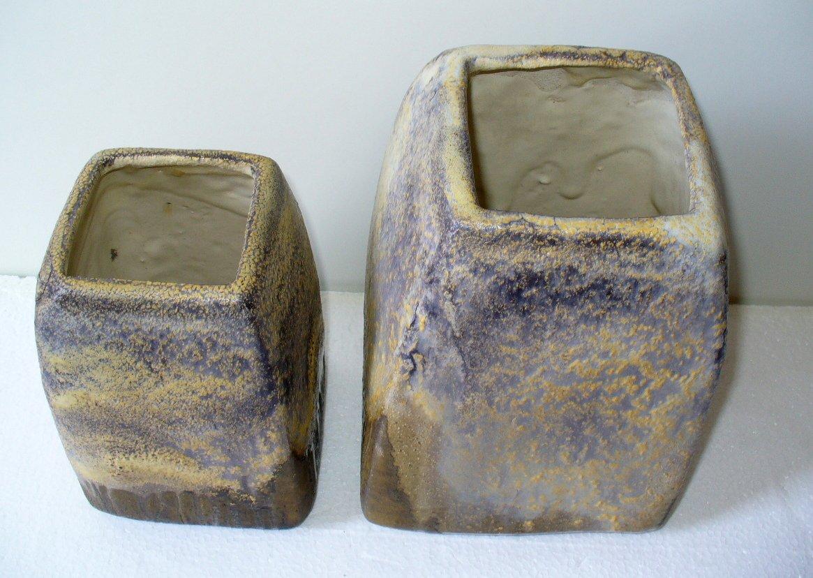 vasen von marcello fantoni 1970er 2er set bei pamono kaufen. Black Bedroom Furniture Sets. Home Design Ideas