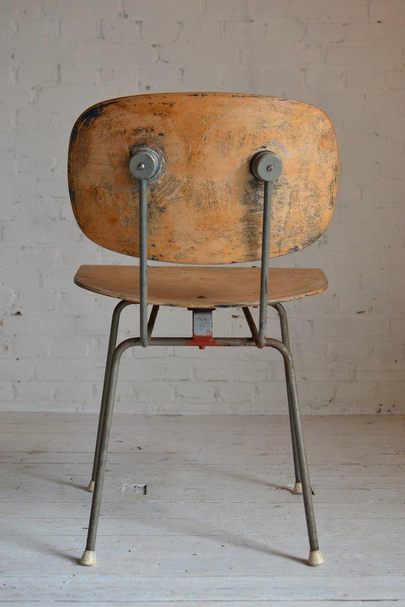 gispen 39 stuhl von wim rietveld bei pamono kaufen. Black Bedroom Furniture Sets. Home Design Ideas