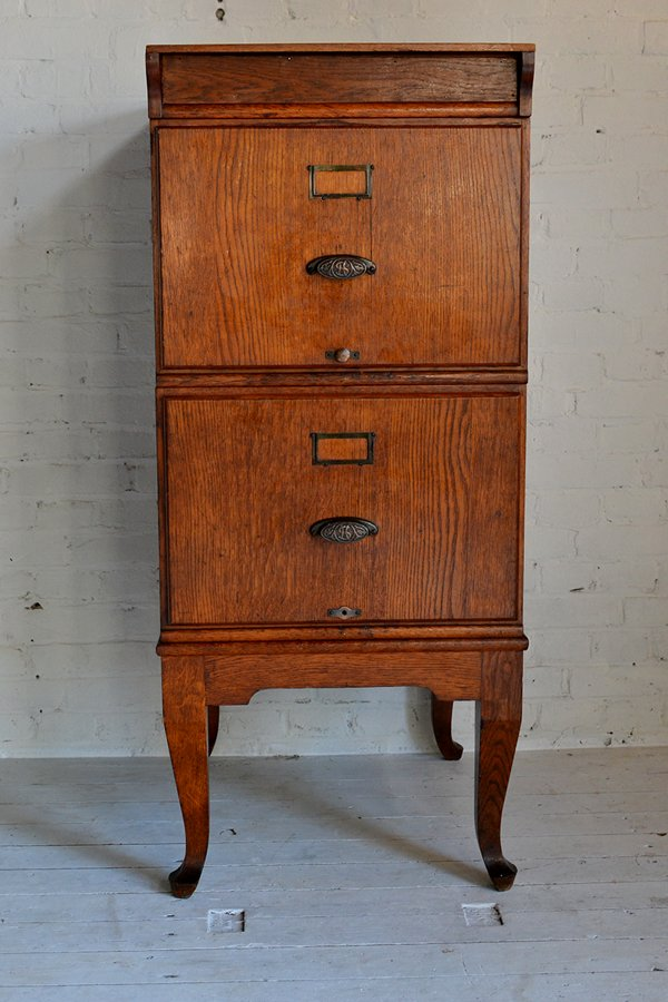 vintage wooden filing cabinet for sale at pamono. Black Bedroom Furniture Sets. Home Design Ideas