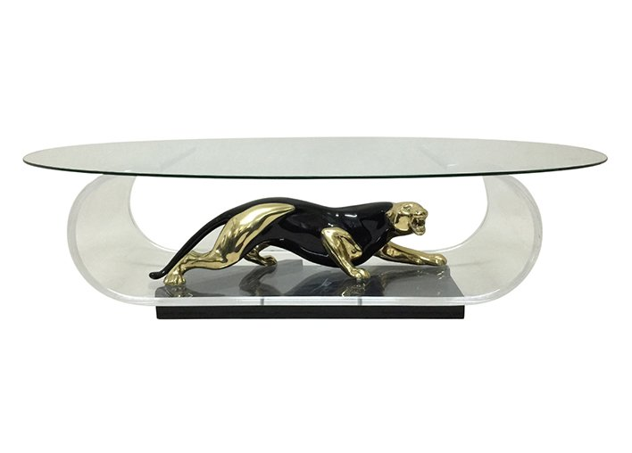 cool panther coffee table