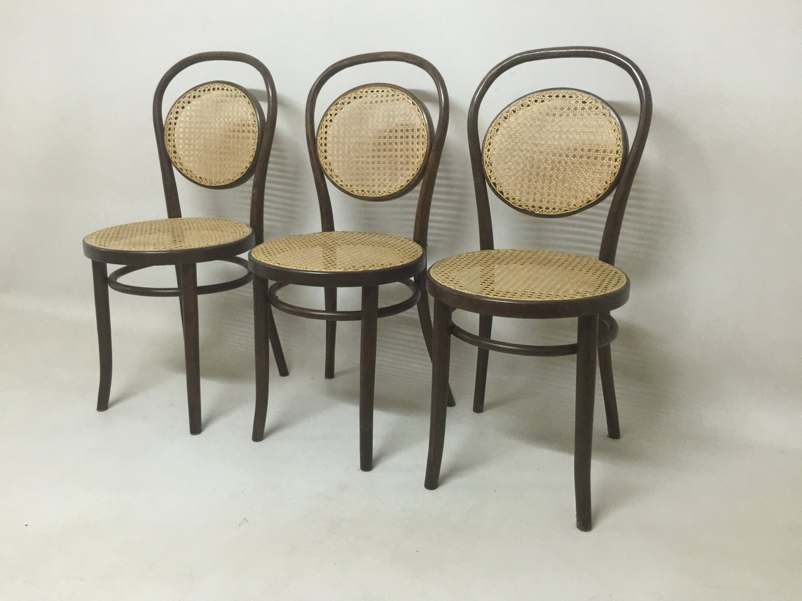 Daum Café Chairs from Thonet Set of 3 for sale at Pamono