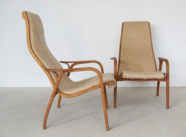 Set of Two Lamino Chairs by Swedese for sale at Pamono
