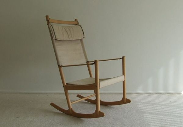 Danish Design Rocking Chair for sale at Pamono