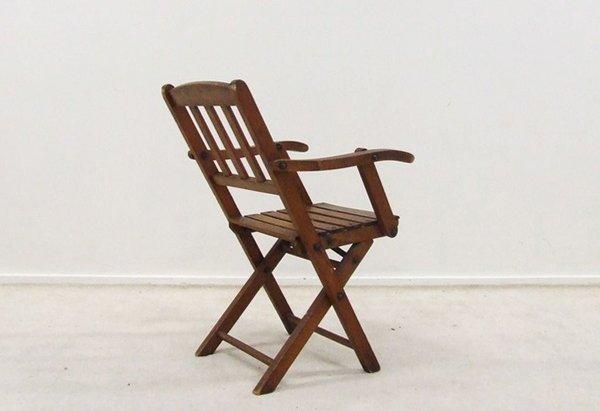 Chaise d 39 enfant vintage pliable 1950s en vente sur pamono - Chaise enfant pliable ...