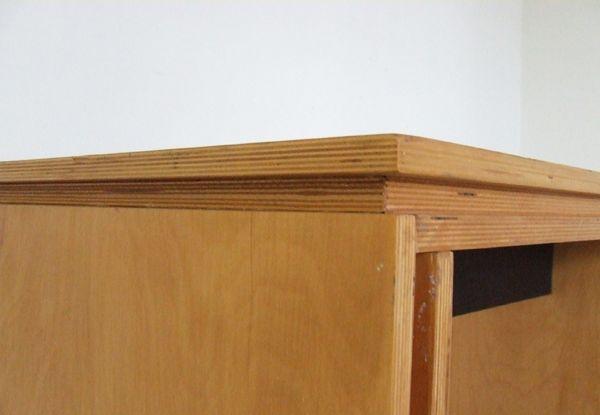 industrial multiplex schreibtisch aus den niederlanden bei. Black Bedroom Furniture Sets. Home Design Ideas