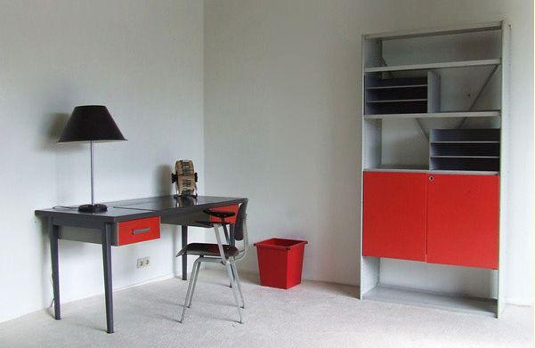 industrial schreibtisch von gispen bei pamono kaufen. Black Bedroom Furniture Sets. Home Design Ideas