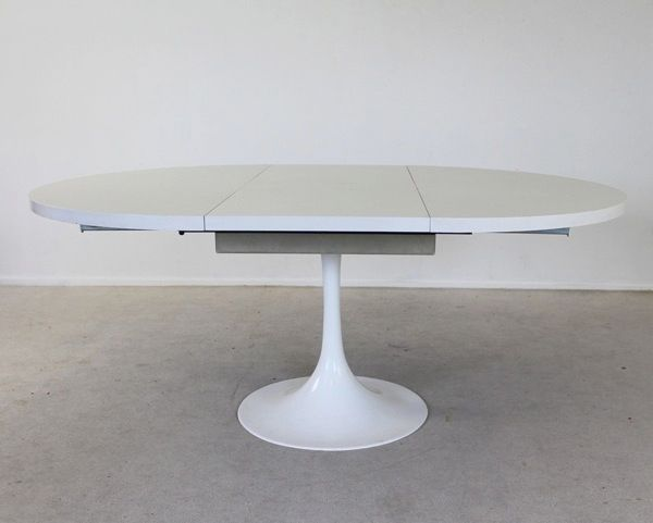 Extendable Tulip Table Home Pbg Images Best White Dining - Extendable tulip table
