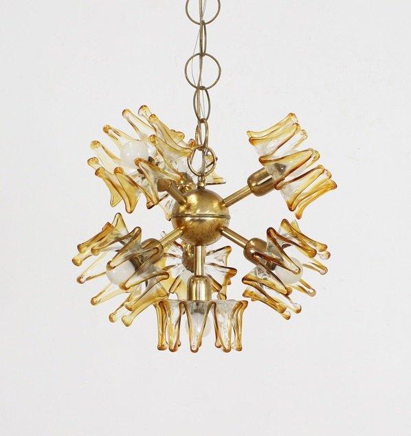 Murano glass pendant light from av mazzega 1950s for sale at pamono murano glass pendant light from av mazzega 1950s aloadofball Images
