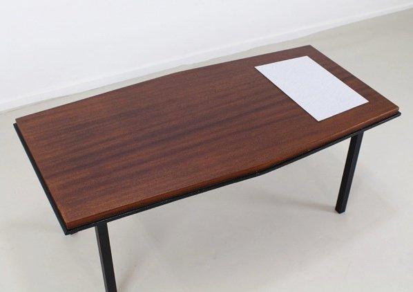 table basse vintage avec encastrement en formica blanc belgique 1965 en vente sur pamono. Black Bedroom Furniture Sets. Home Design Ideas