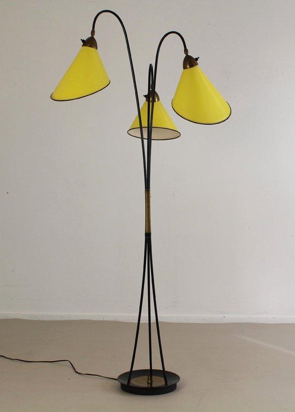 Vintage german floor lamp 1965 for sale at pamono for German floor lamps