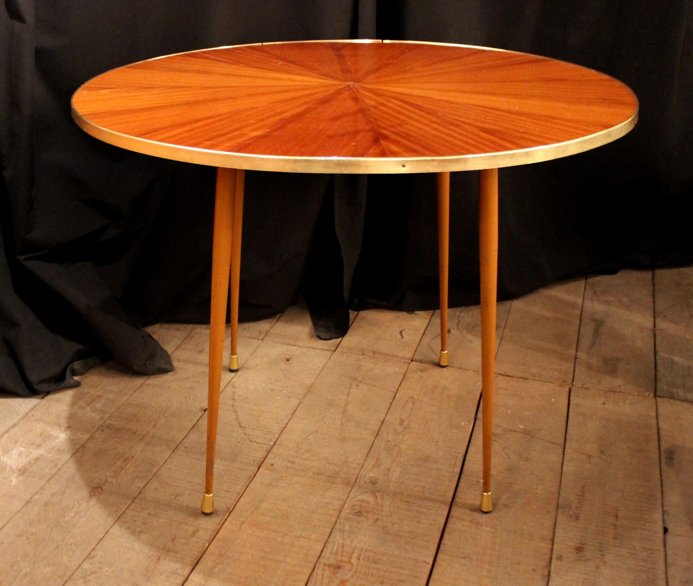 Round Dining Table 1950s For Sale At Pamono