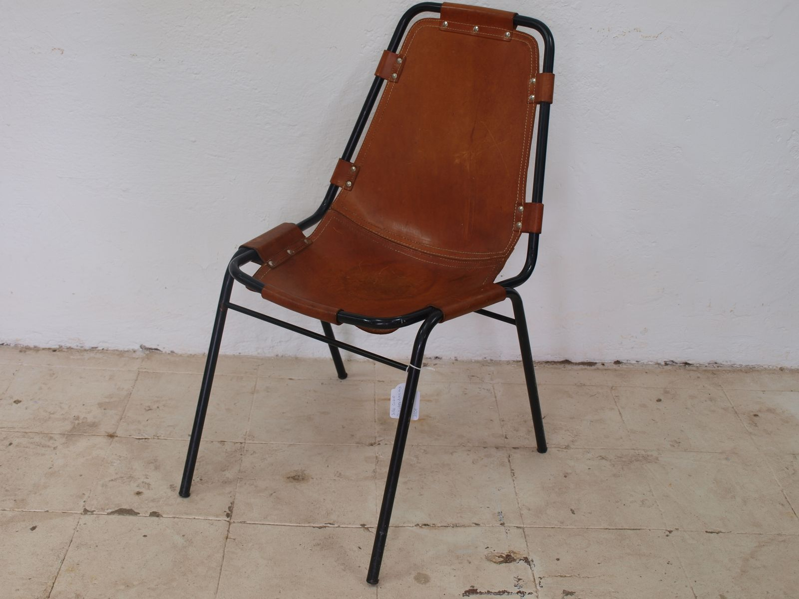 Les Arcs Chair By Charlotte Perriand 1960s For Sale At Pamono