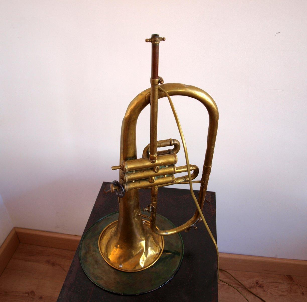 vintage trompete h ngelampe bei pamono kaufen. Black Bedroom Furniture Sets. Home Design Ideas