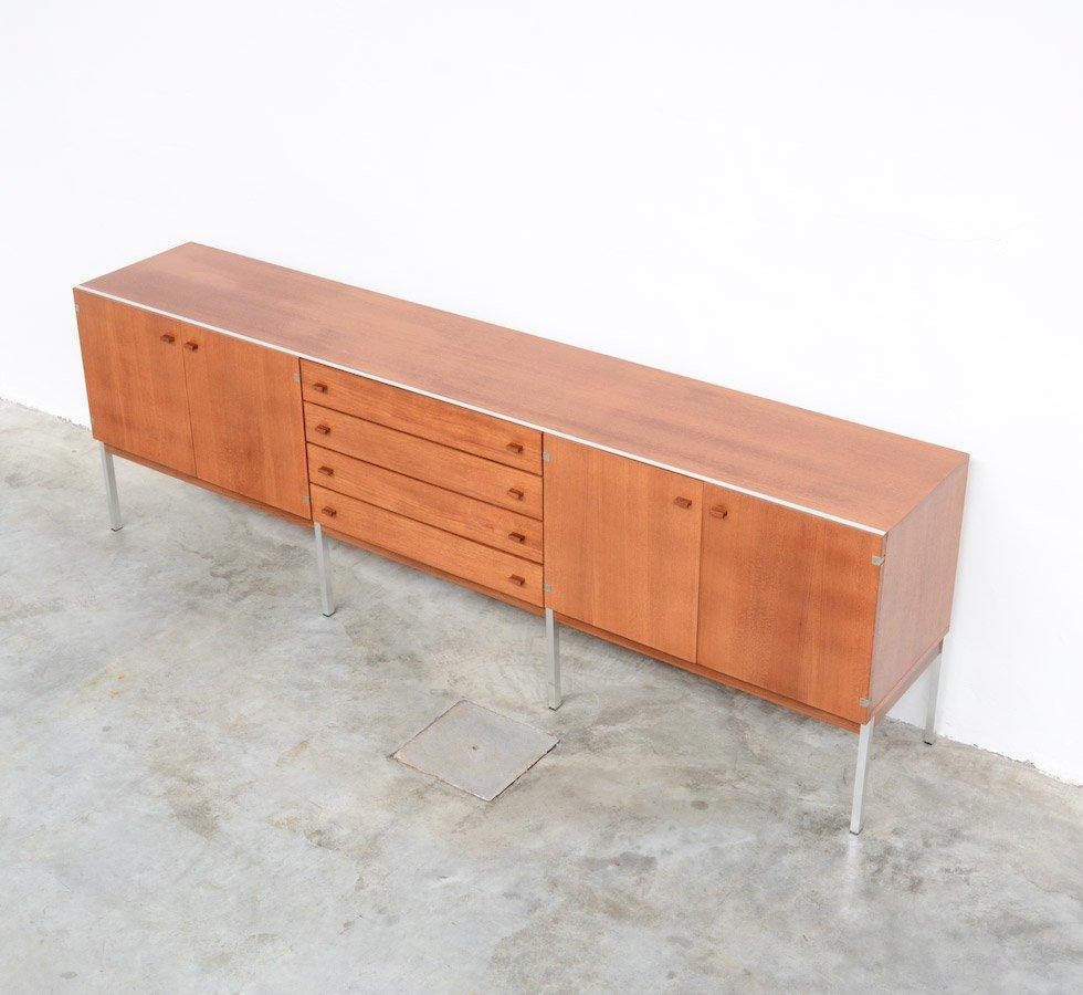 gro es sideboard aus teak 1960er bei pamono kaufen. Black Bedroom Furniture Sets. Home Design Ideas
