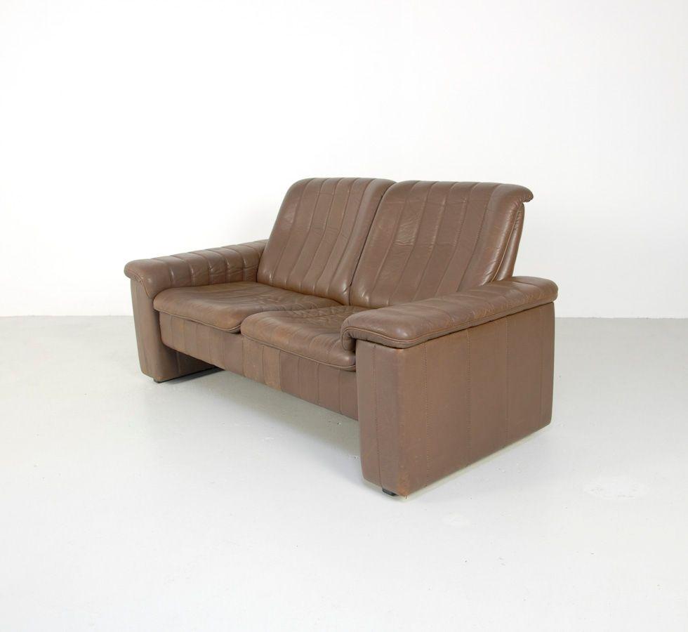 vintage sofa from de sede for sale at pamono. Black Bedroom Furniture Sets. Home Design Ideas