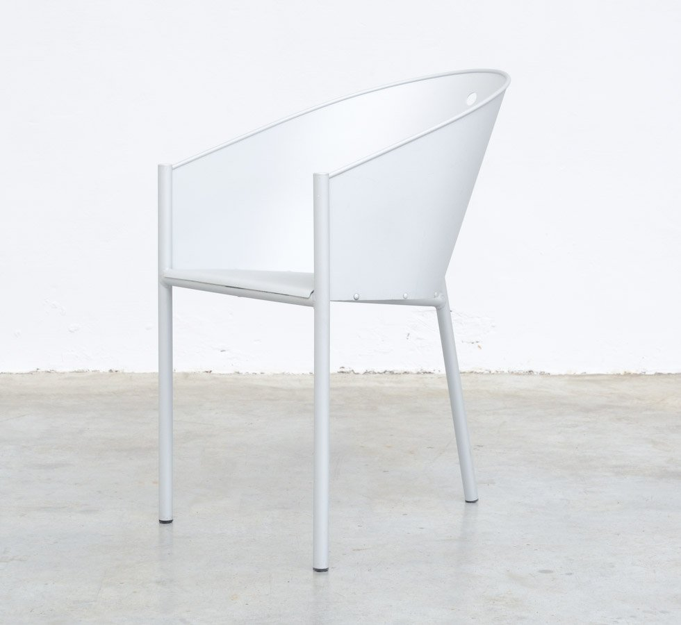 costes alluminio stuhl von philippe starck f r driade bei pamono kaufen. Black Bedroom Furniture Sets. Home Design Ideas
