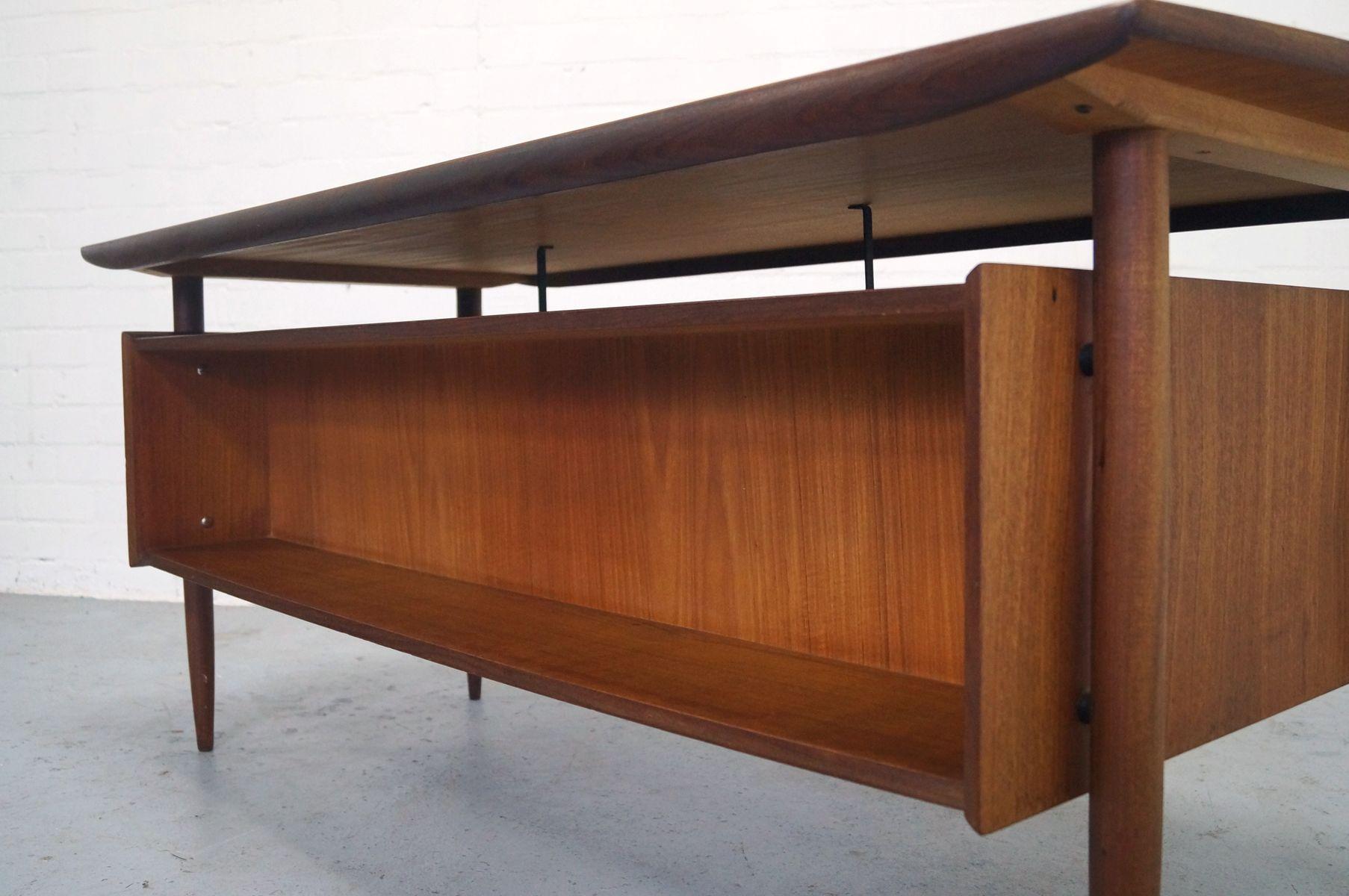 vintage teak bureau by tijsseling 1950s for sale at pamono. Black Bedroom Furniture Sets. Home Design Ideas