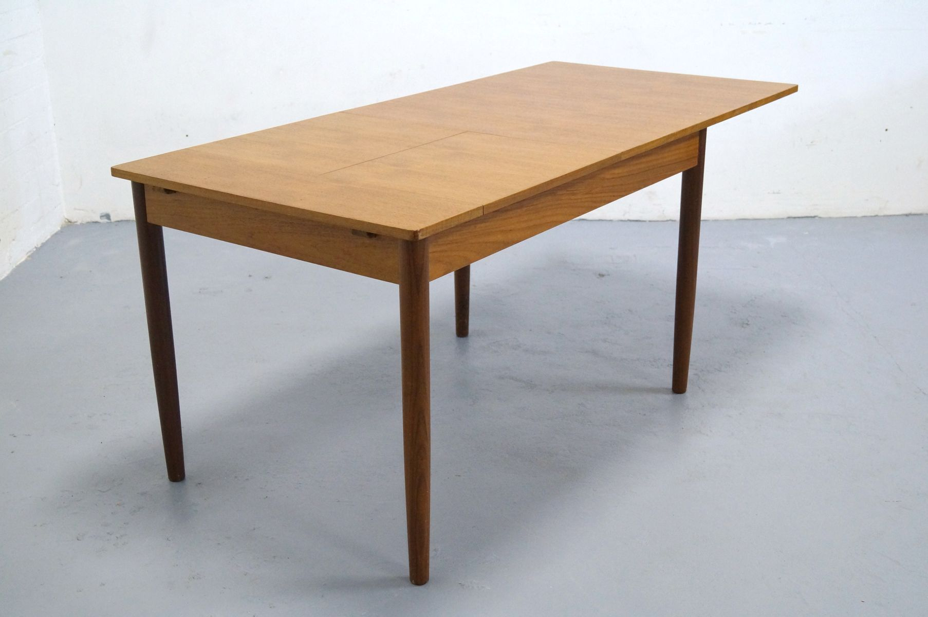 Mid Century Danish Teak Dining Table 1950s For Sale At Pamono
