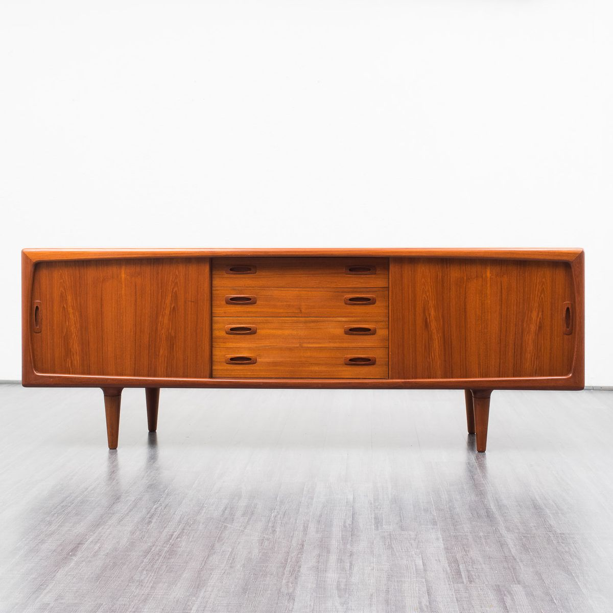 Teak sideboard from h p hansen 1960s for sale at pamono for Sideboard 220 cm
