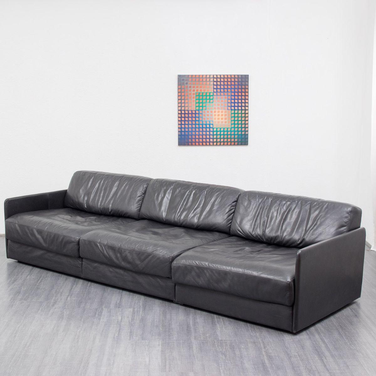 ds 76 dreisitzer sofa von de sede bei pamono kaufen. Black Bedroom Furniture Sets. Home Design Ideas