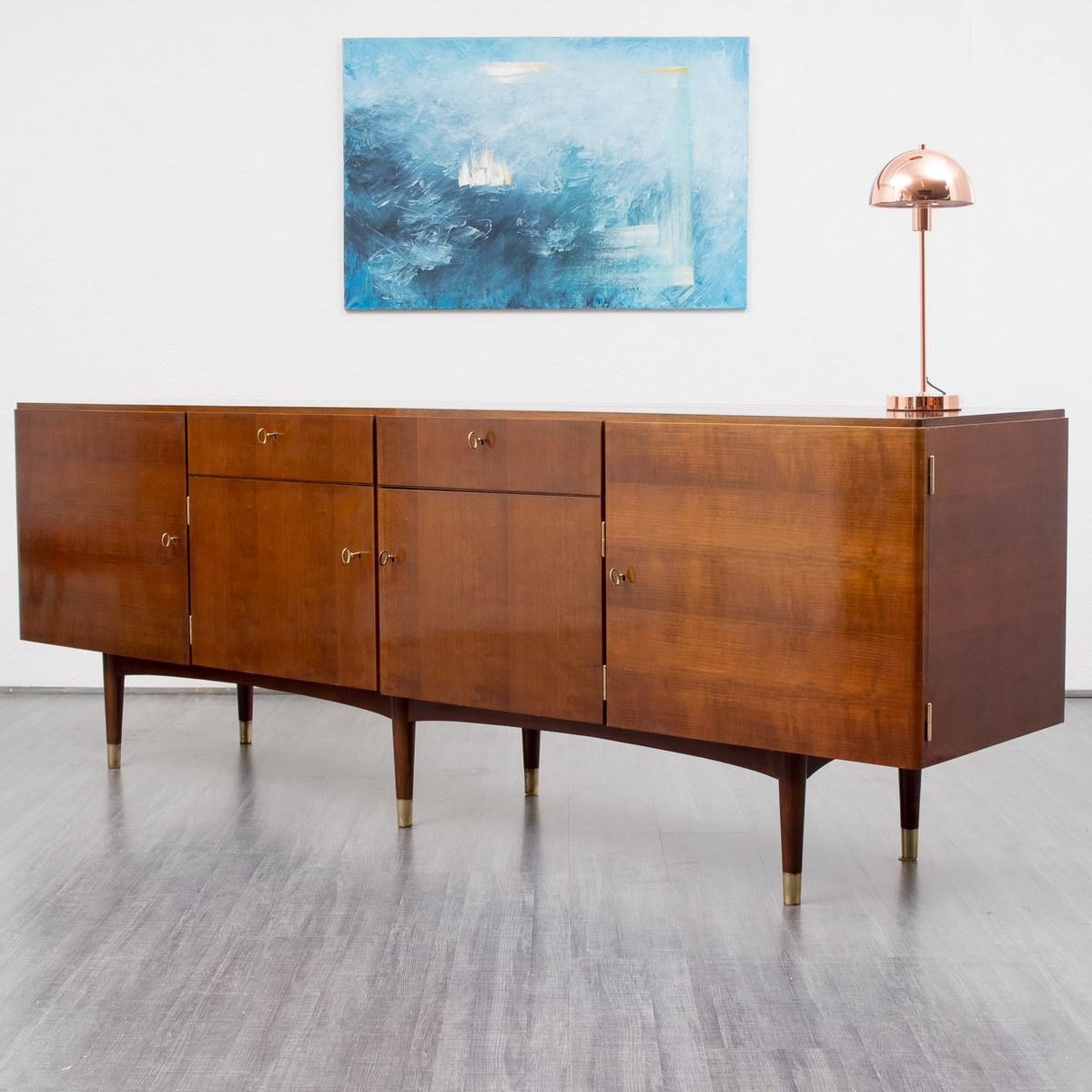 Xl vintage sideboard 1950er bei pamono kaufen for Sideboard 2 50 m