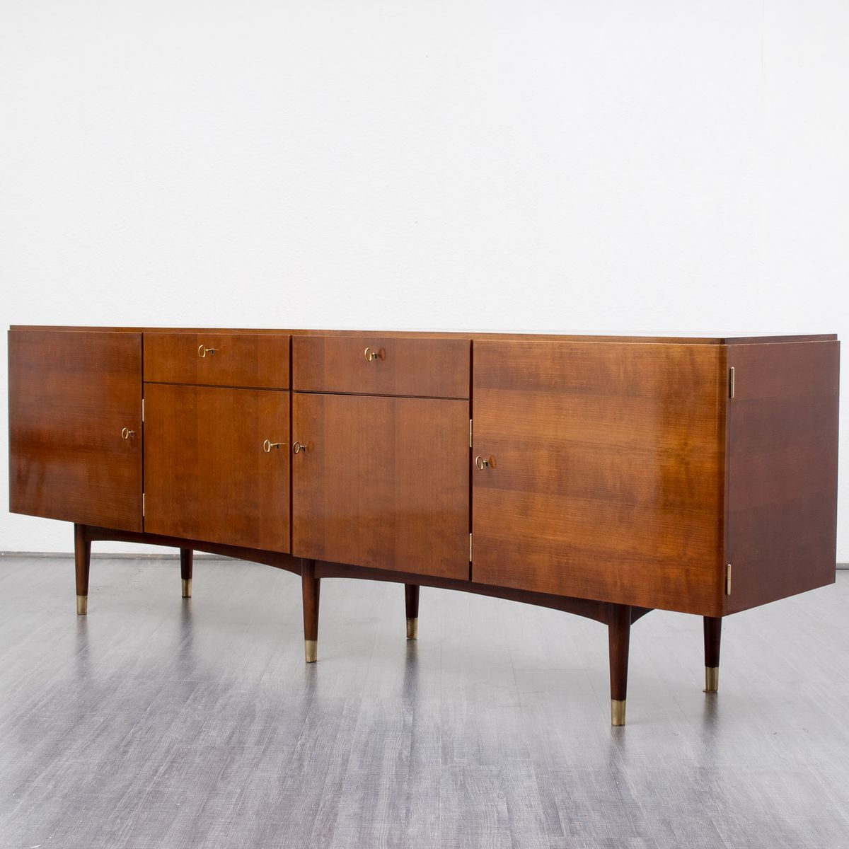 Xl vintage sideboard 1950s for sale at pamono for 1950 s credenza
