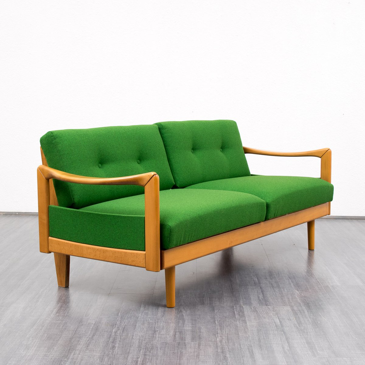 Vintage Green Sofa 1960s For Sale At Pamono