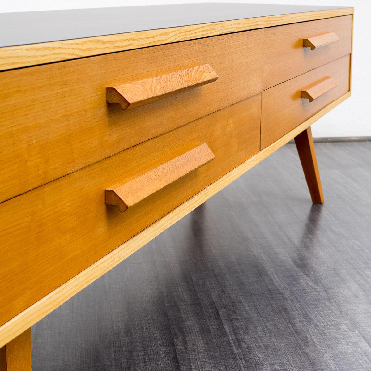 ulme und resopal sideboard 1950er bei pamono kaufen. Black Bedroom Furniture Sets. Home Design Ideas