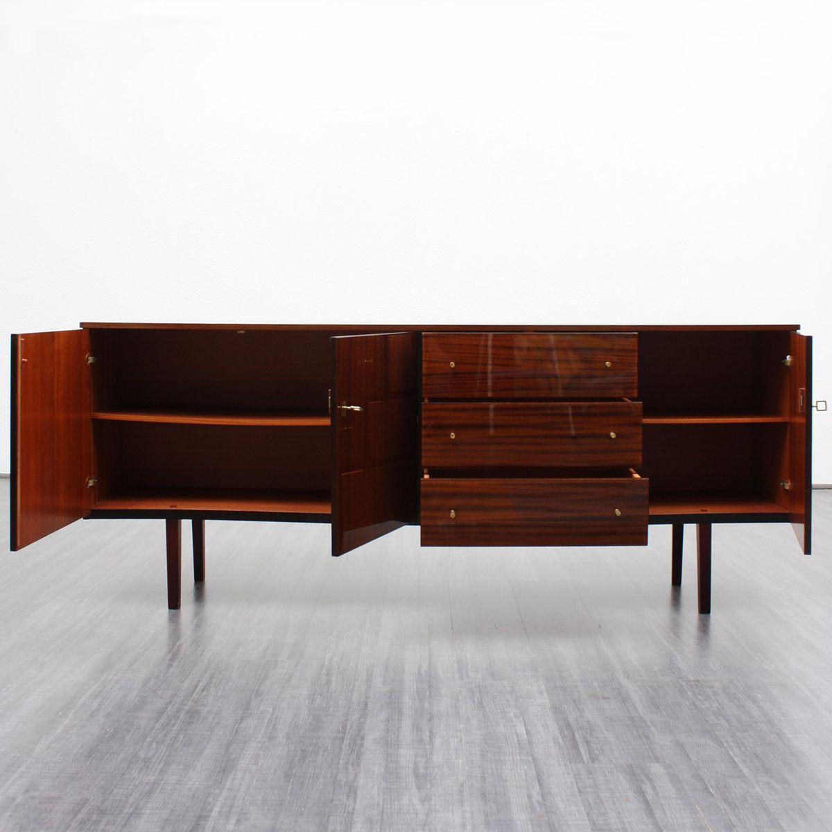 mid century mahagoni sideboard bei pamono kaufen. Black Bedroom Furniture Sets. Home Design Ideas