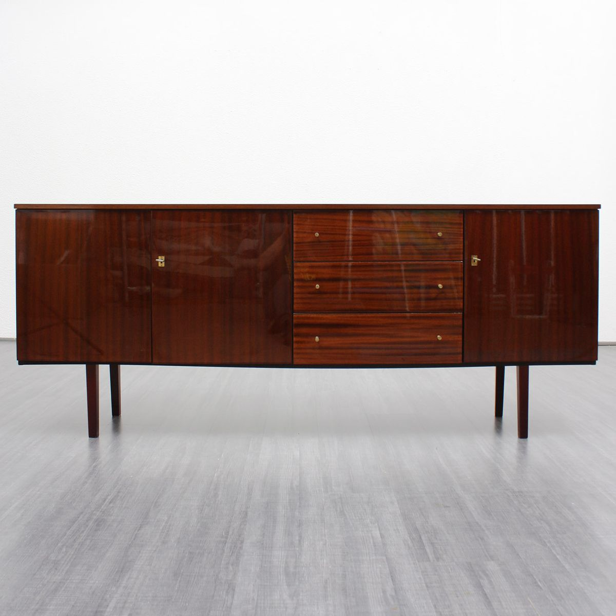 mid century mahogany sideboard for sale at pamono. Black Bedroom Furniture Sets. Home Design Ideas