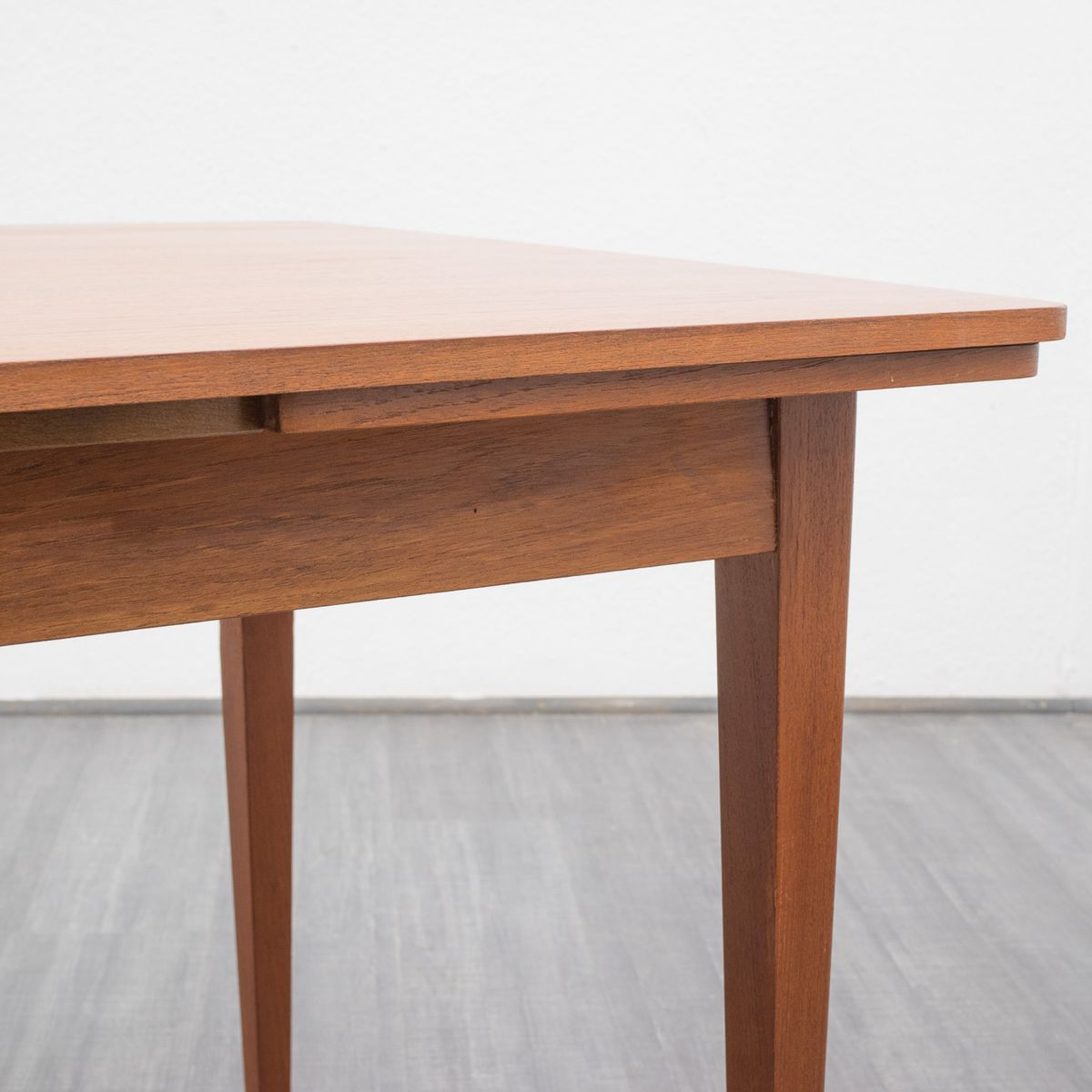 Mid Century Teak Extending Dining Table 1960s For Sale At