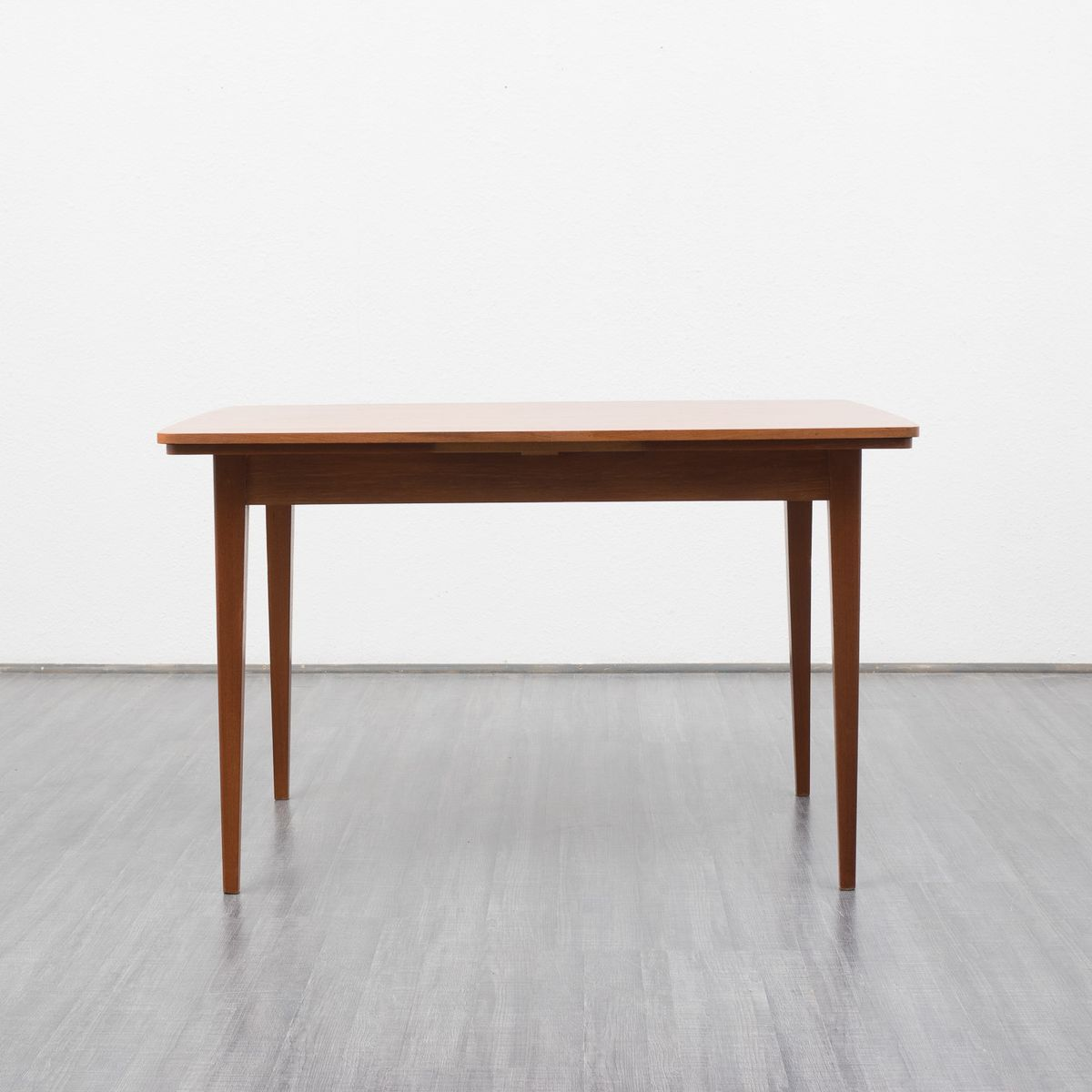 Mid Century Teak Extending Dining Table 1960s For Sale At Pamono