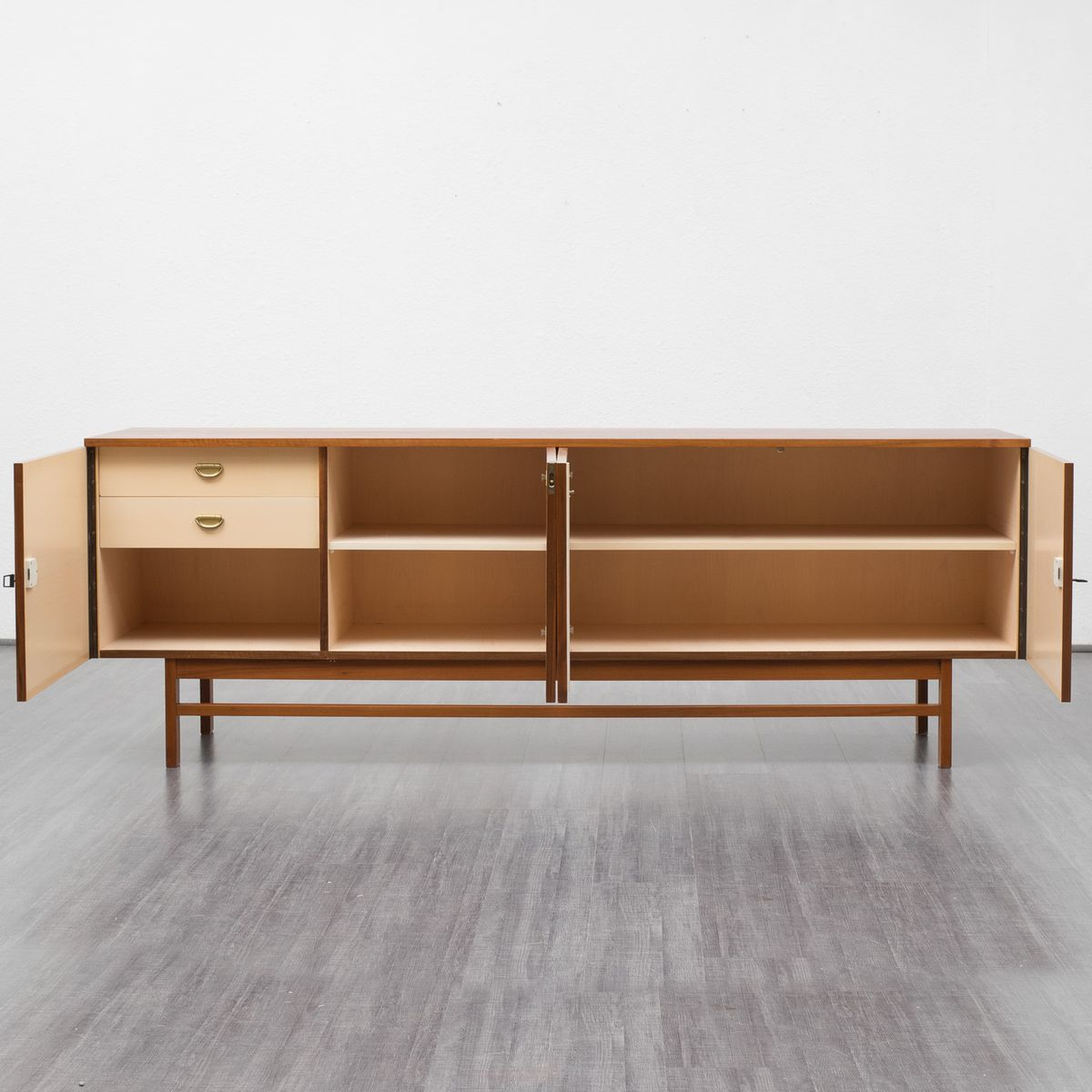 Vintage chequered walnut sideboard for sale at pamono for Sideboard 220 cm