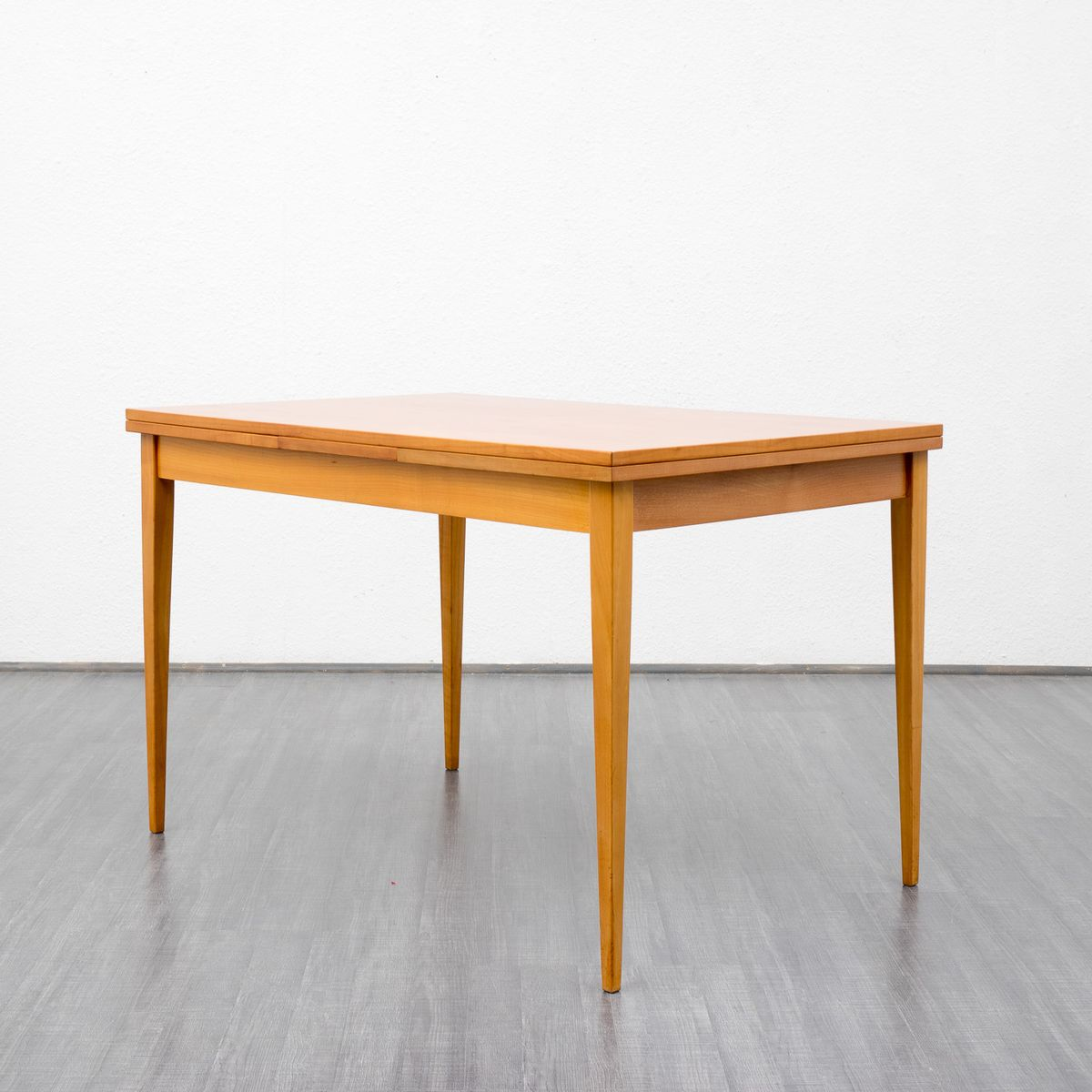 Vintage extending cherrywood dining table for sale at pamono for 11 table
