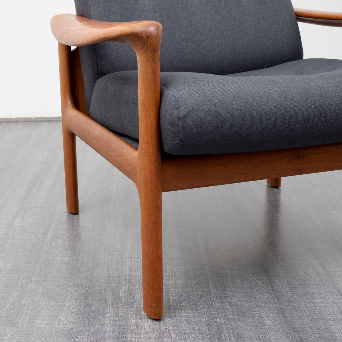 danish teak armchair from komfort for sale at pamono